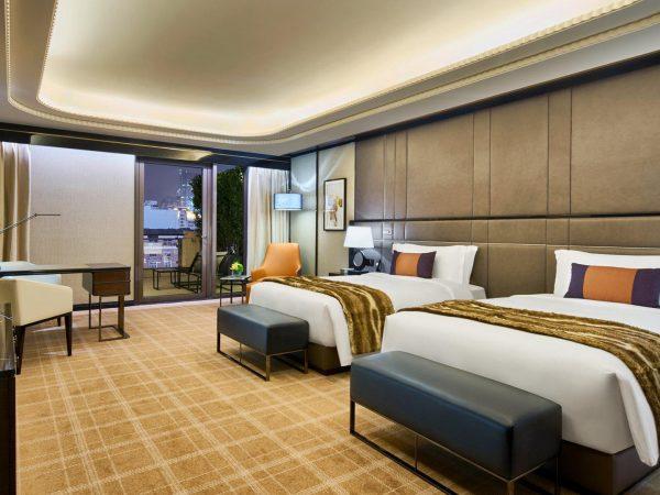 Bellagio Shanghai Terrace River Twin Room