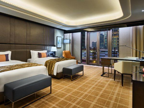 Bellagio Shanghai Terrace Twin Room