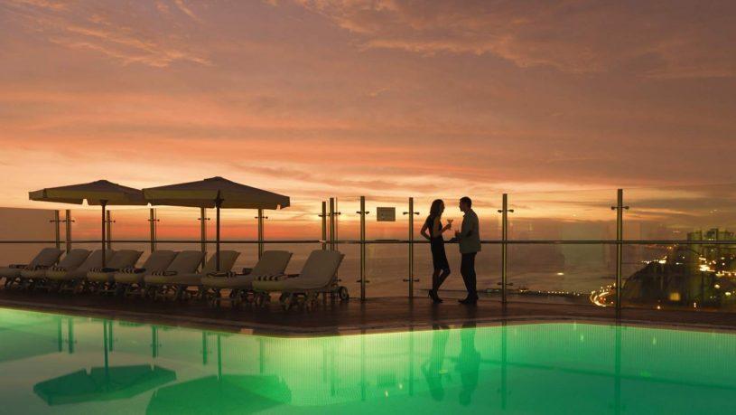 Belmond Miraflores Park Hotel Pool Sunset