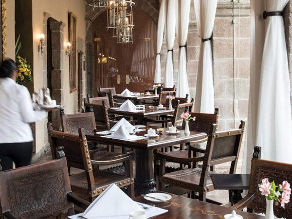 Belmond Palacio Nazarenas Dining at Belmond Hotel Monasterio