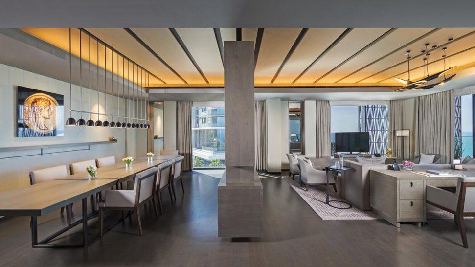 Caesars Palace Bluewaters Dubai Presidential Suite Living Room