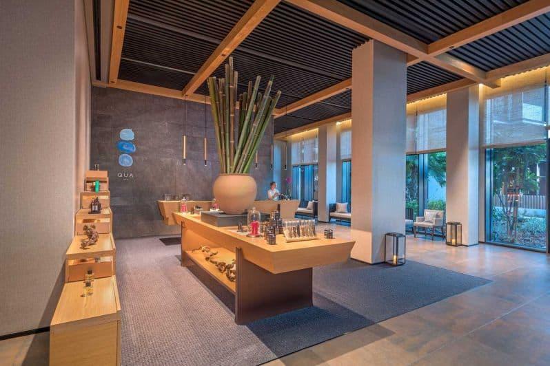 Caesars Palace Bluewaters Dubai Qua Spa Reception