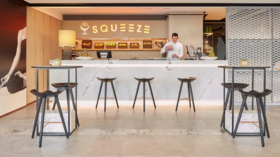 Caesars Palace Bluewaters Dubai Squeeze Juice Bar