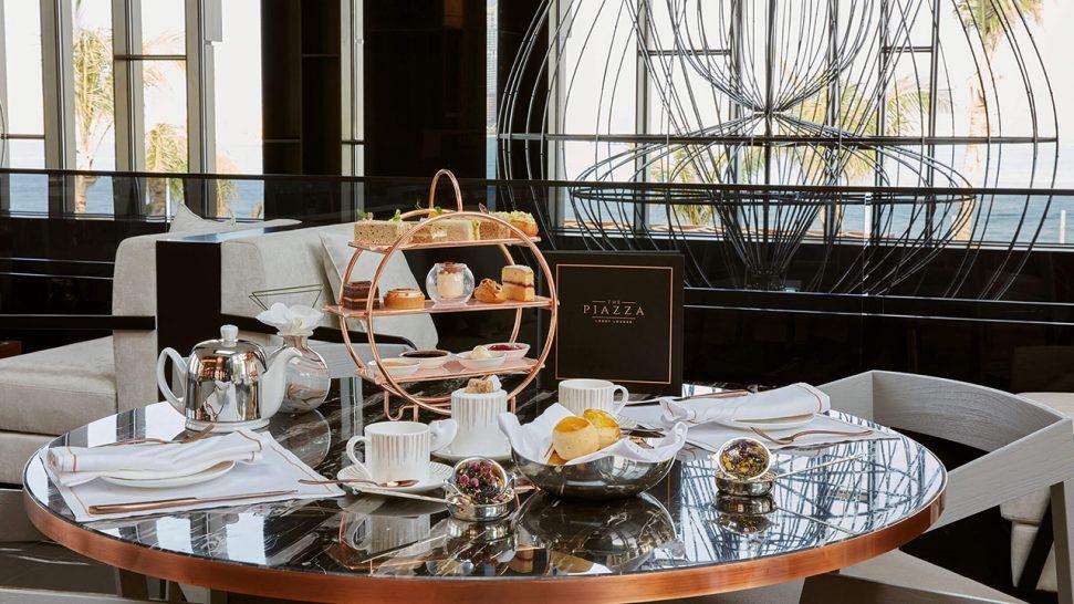 Caesars Palace Bluewaters Dubai The Piazza Lobby Lounge