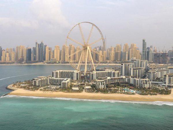 Caesars Palace Bluewaters Dubai View