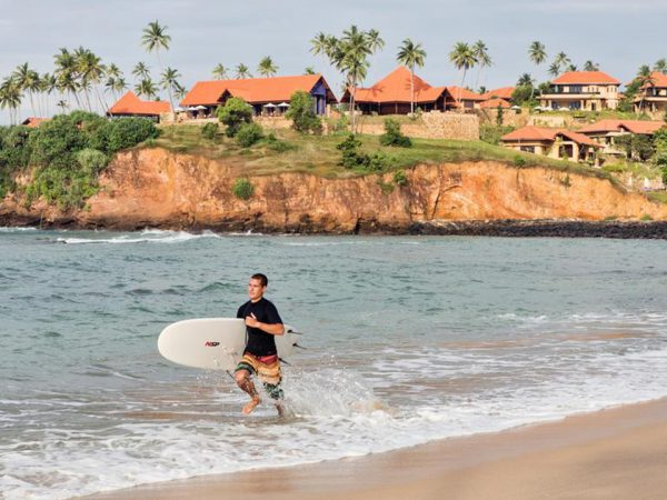Cape Weligama Beach View
