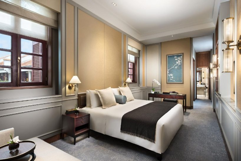 Capella Shanghai Jian Ye Li Shikumen Grand Bedroom