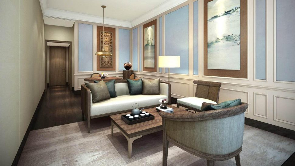 Capella Shanghai Jian Ye Li Shikumen Grand Living Room