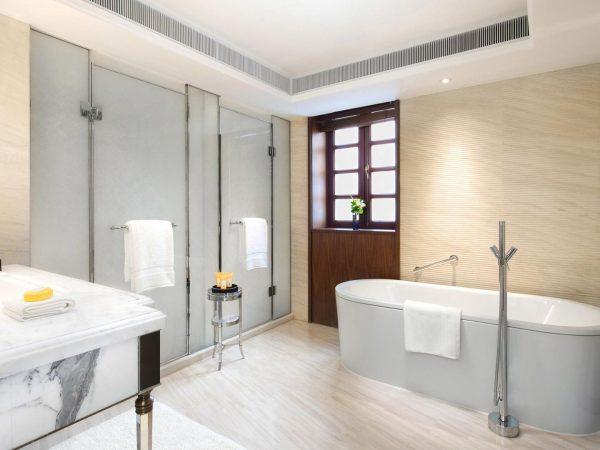 Capella Shanghai Jian Ye Li Shikumen Villa Bathroom