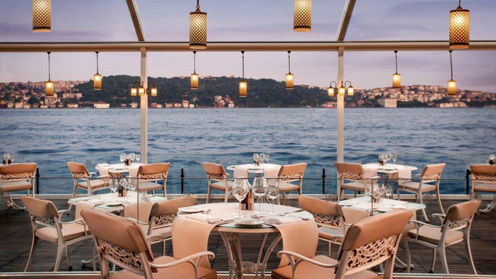 Ciragan Palace Kempinski Bosphorus Grill