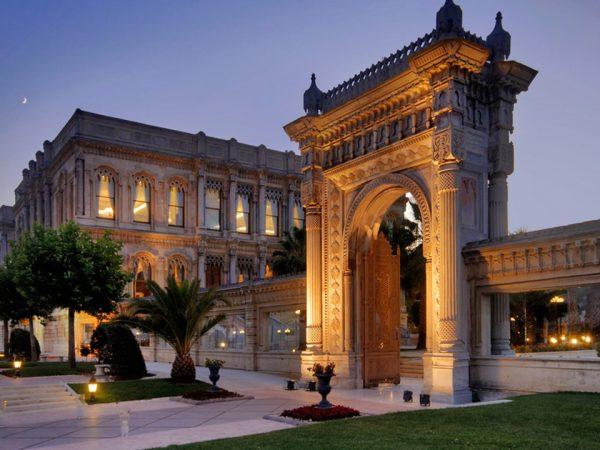 Ciragan Palace Kempinski Historical Gate