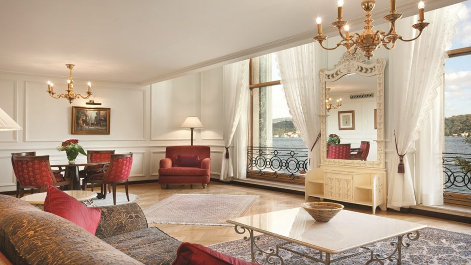 Ciragan Palace Kempinski One-Bedroom Bosphorus View Palace Suite