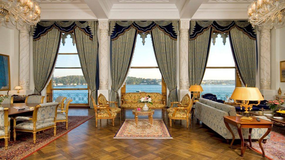 Ciragan Palace Kempinski One-Bedroom Palace View Palace Suite