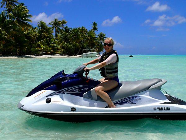 Conrad Bora Bora Nui JetSki Experience