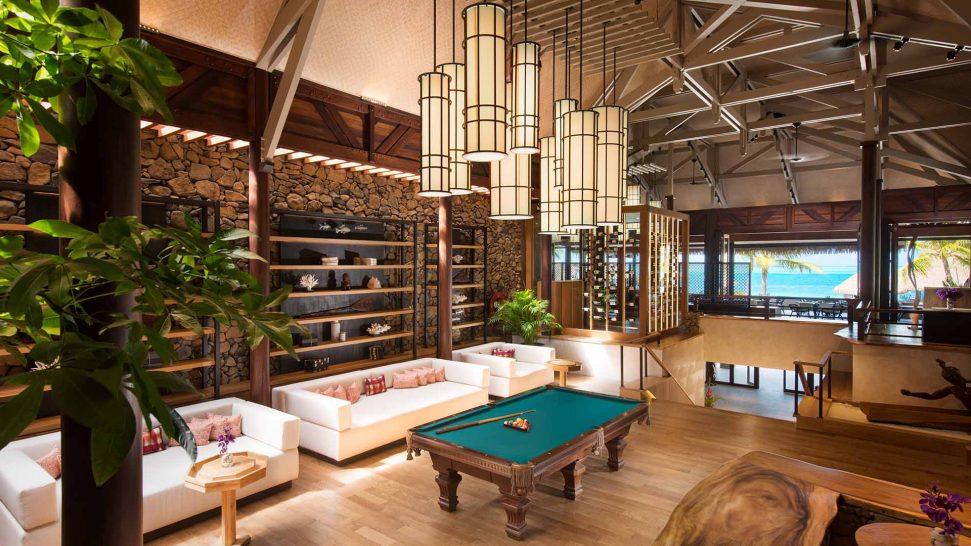 Conrad Bora Bora Nui Library