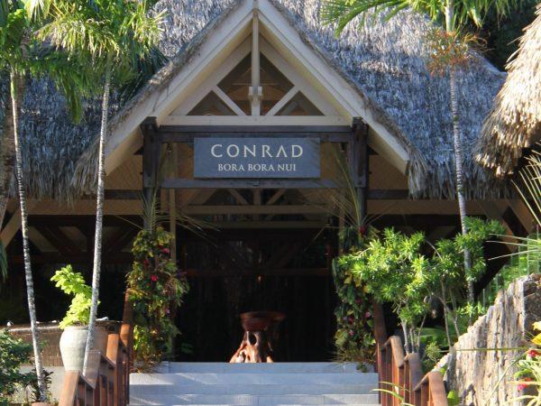 Conrad Bora Bora Nui Lobby