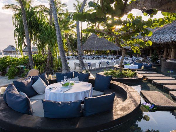 Conrad Bora Bora Nui Pool Dining