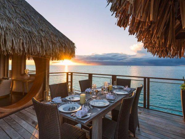 Conrad Bora Bora Nui Presidential Outside Dining