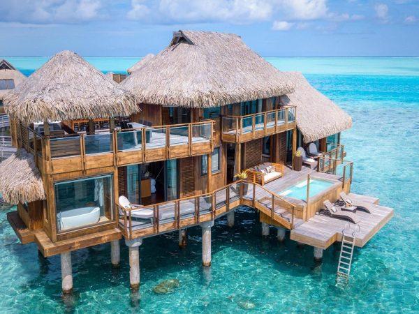 Conrad Bora Bora Nui Presidential Suite Exterior