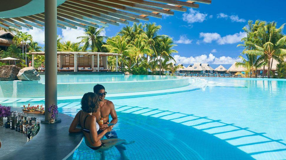 Conrad Bora Bora Nui Tarava Pool Bar