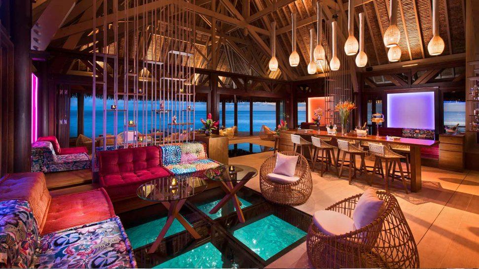 Conrad Bora Bora Nui Upa Upa Lounge Bar