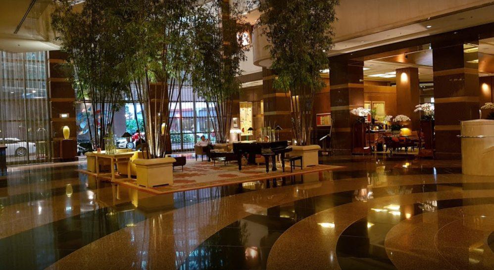 Conrad Centennial Singapore Lobby Area