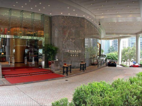 Conrad Hong Kong Entrance