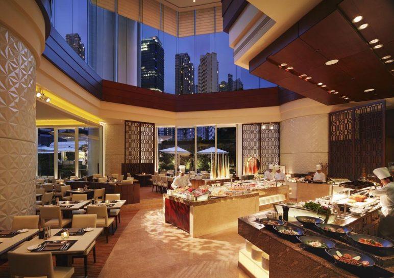 Conrad Hong Kong Garden Cafe