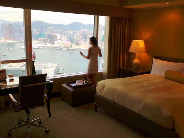 Conrad Hong Kong King Bed Deluxe Room