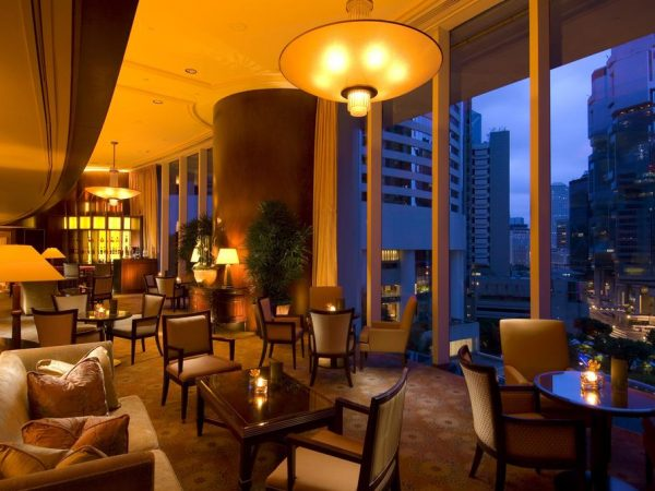 Conrad Hong Kong Lobby Area
