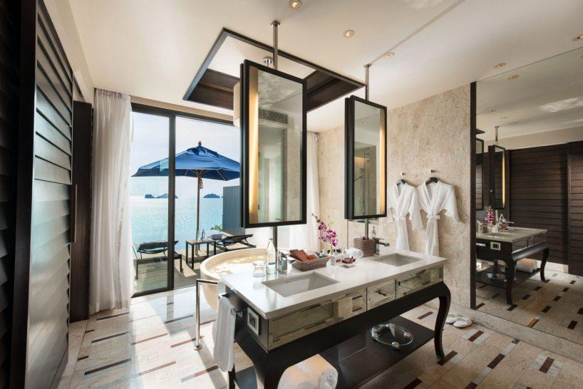 Conrad Koh Samui 1 Bedroom Oceanview Pool Villa Bathroom