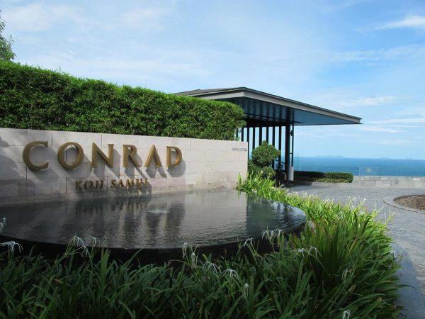 Conrad Koh Samui Front