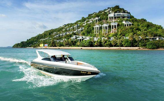 Conrad Koh Samui Luxury Boat