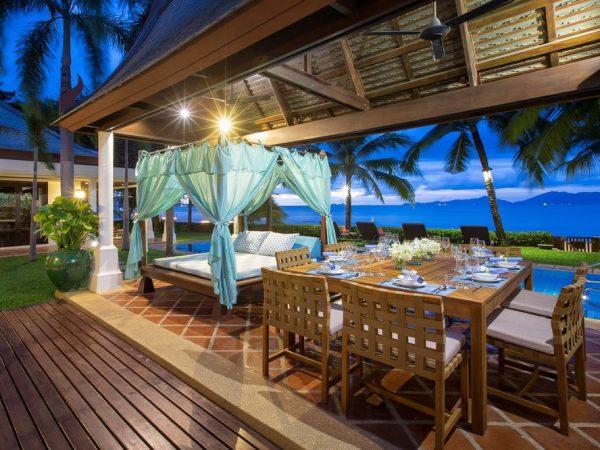 Conrad Koh Samui Private In Villa Bbq