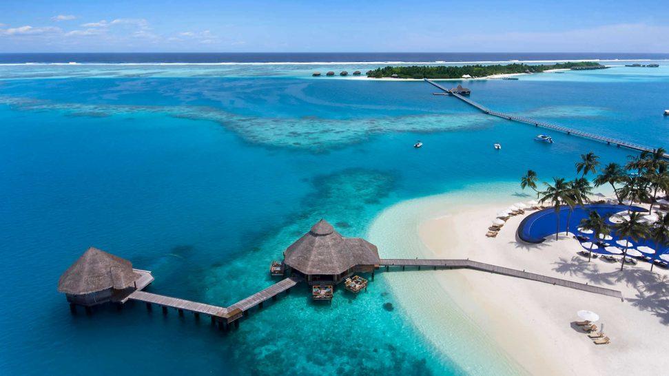 Conrad Maldives Rangali Island Aerial