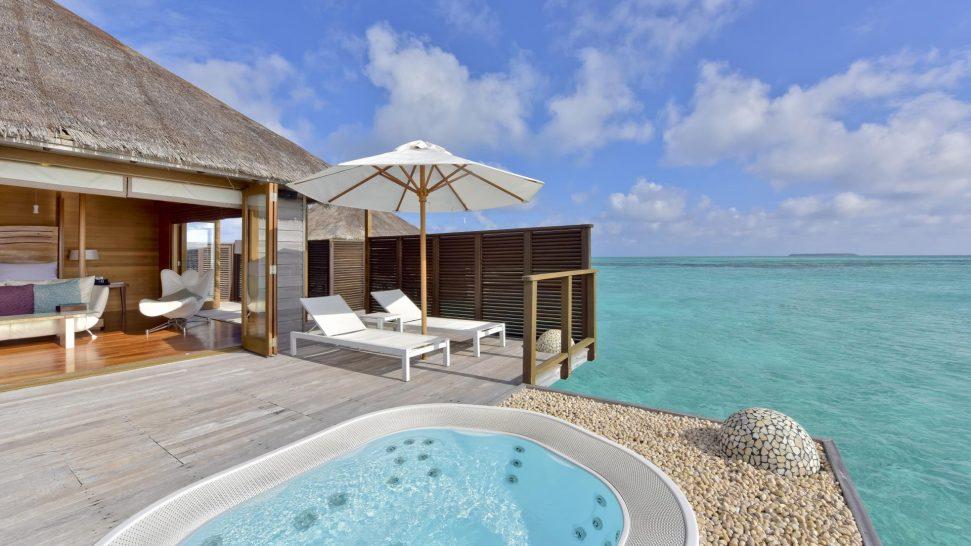 Conrad Maldives Rangali Island Deluxe Water Villa