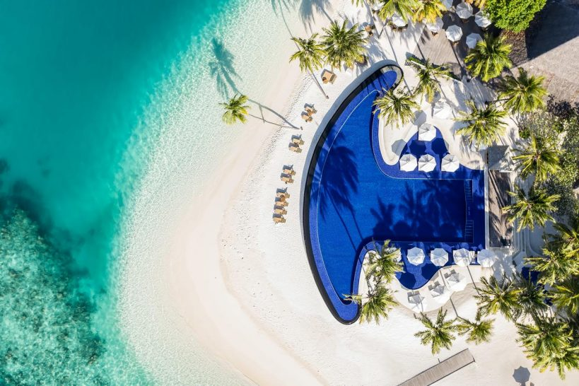 Conrad Maldives Rangali Island Main Pool