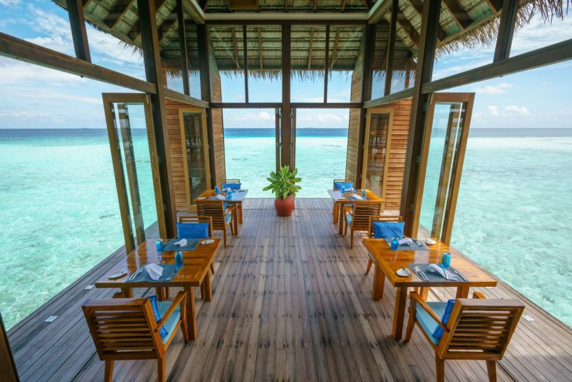 Conrad Maldives Rangali Island Mandhoo Spa Restaurant