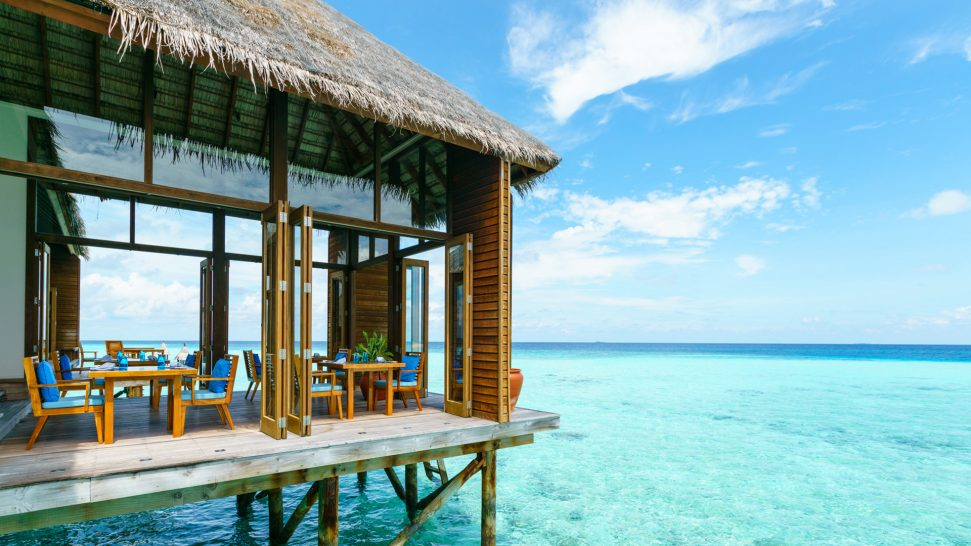 Conrad Maldives Rangali Island MandhooSpa Restaurant