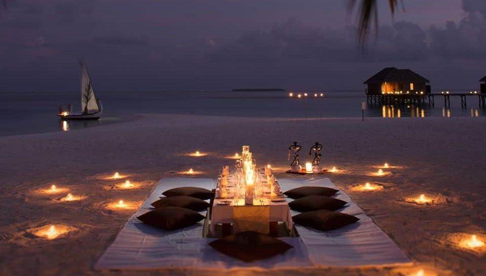 Conrad Maldives Rangali Island Private Beach Dinners