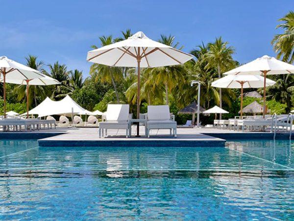Conrad Maldives Rangali Island Quiet Zone Swimming Pool