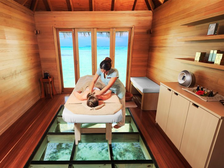 Conrad Maldives Rangali Island Spa Massage