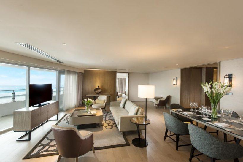 Conrad Manila Diplomatic Suite Lounge Access