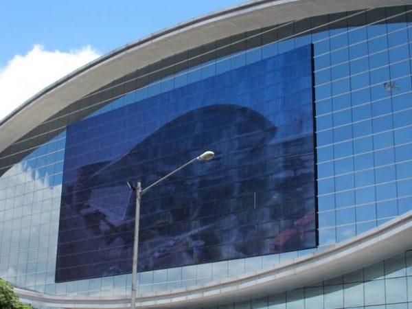 Conrad Manila Exterior View