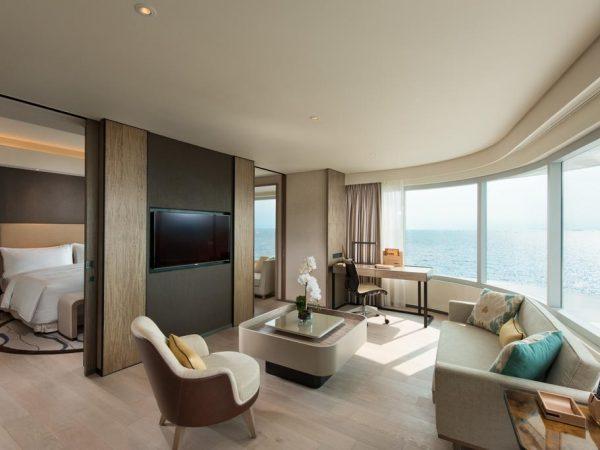 Conrad Manila Panorama Bay View King Deluxe Room