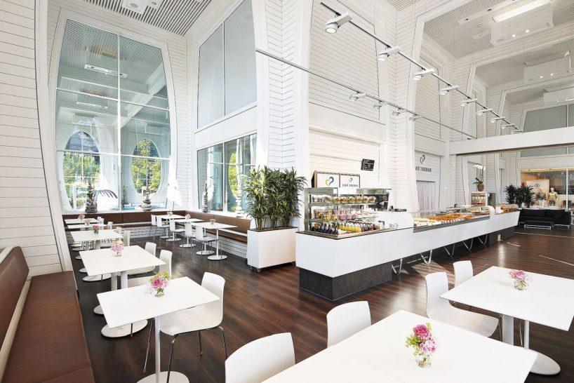 Grand Resort Bad Ragaz Cafe Therme