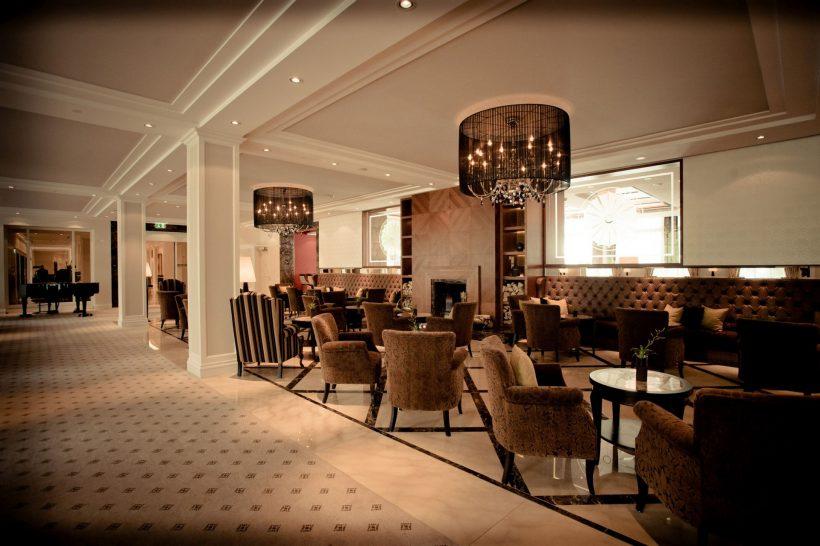 Grand Resort Bad Ragaz Hof Bar Lobby