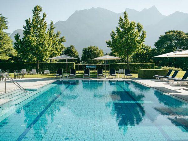 Grand Resort Bad Ragaz Outdoor Pool