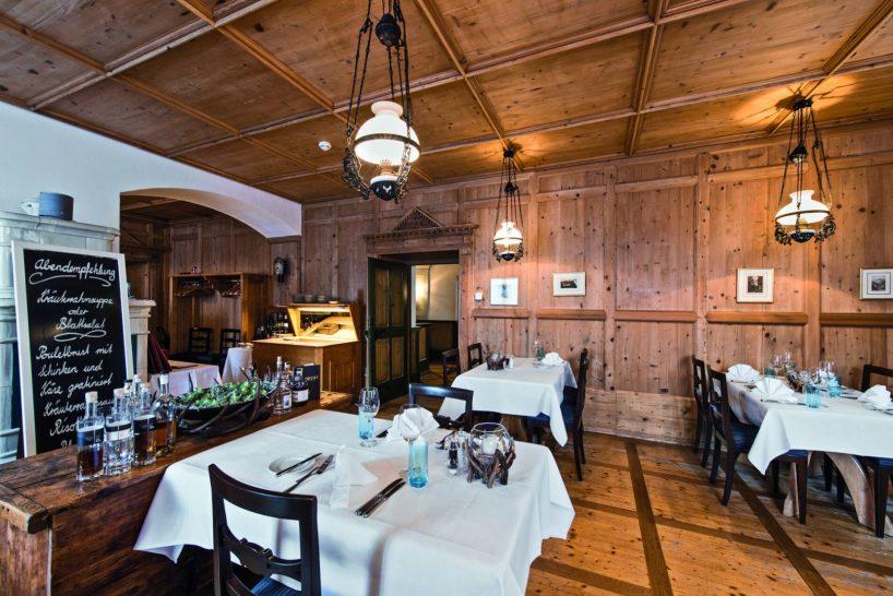 Grand Resort Bad Ragaz Restaurant Zollstube