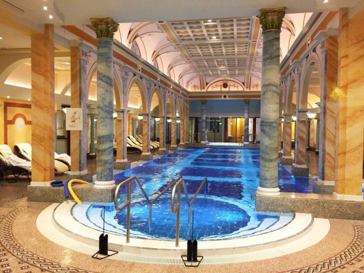 Grand Resort Bad Ragaz Thermal Bath Indoor Pool